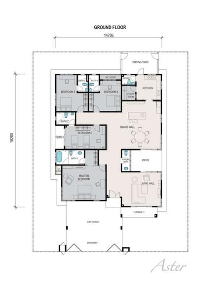 Floor Plan Single Storey House Malaysia House Interior