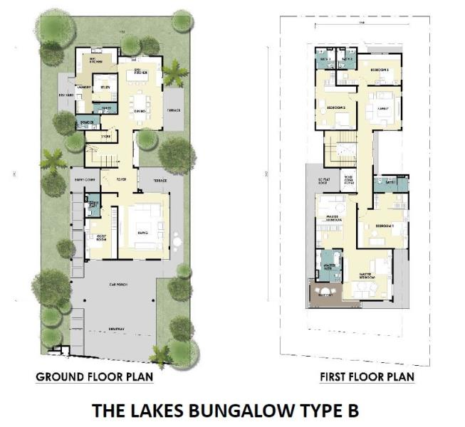 New bungalow house for sale at the lakes link bungalows for My floor planner