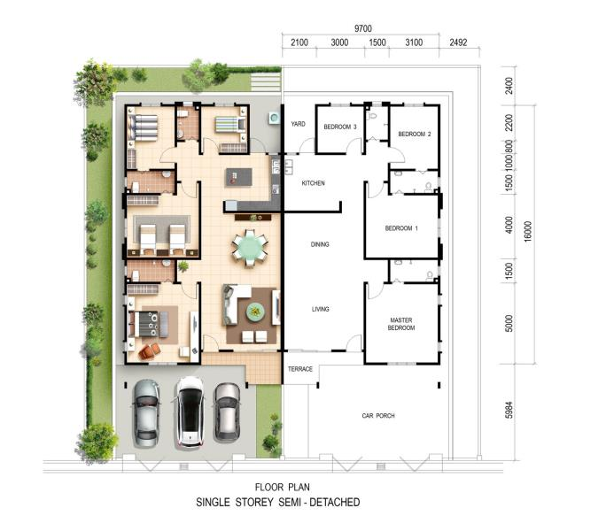 New Semi Detached House For Sale At Emerald 2 Sungai Petani From Rm 320 000