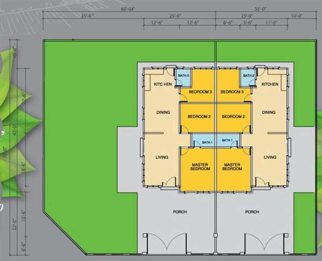 Single storey house floor plan malaysia home design and for Malaysia house plan