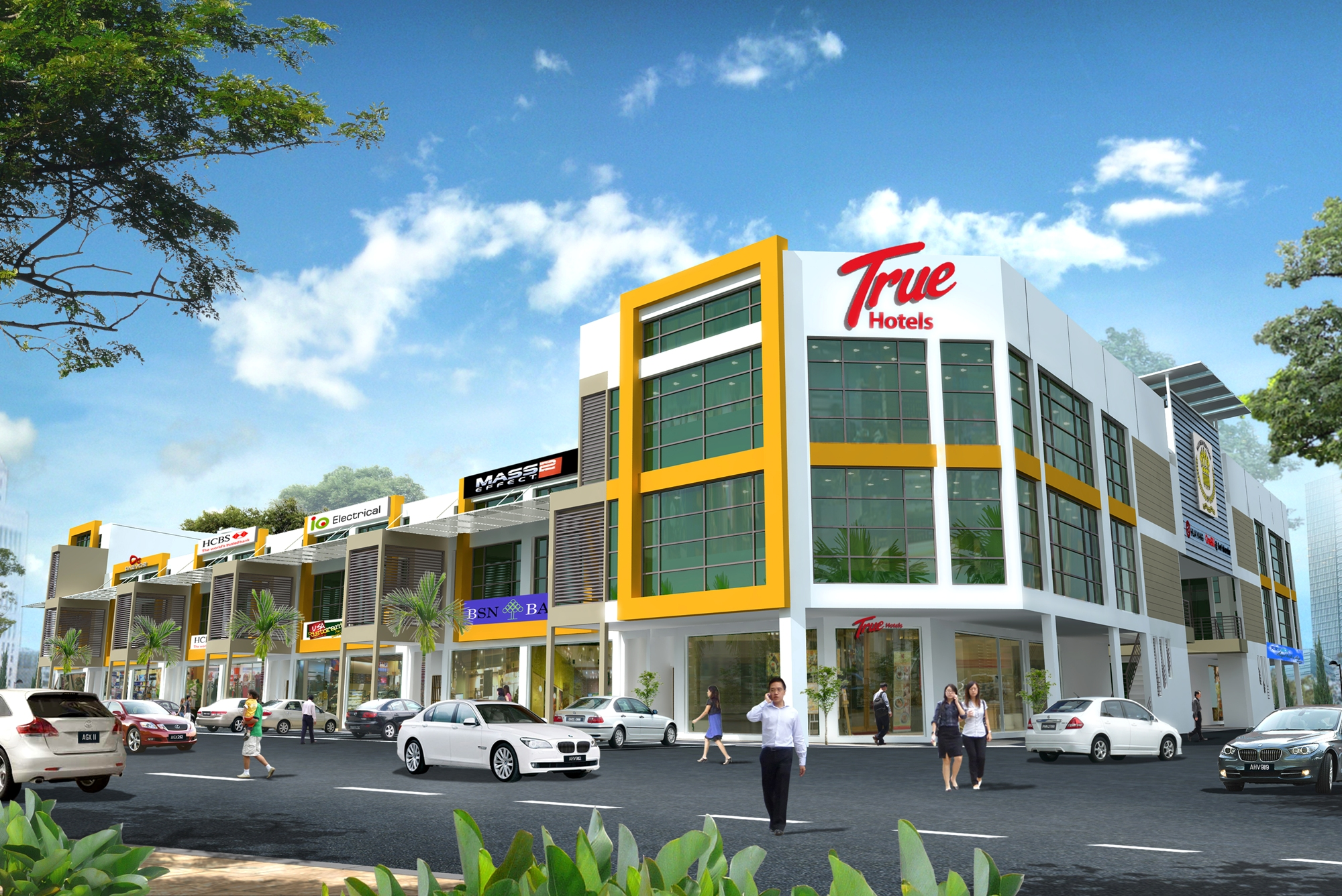 Lanes Roofing New Shop-Office for Sale at Pedestrian Mall @ Bandar ...