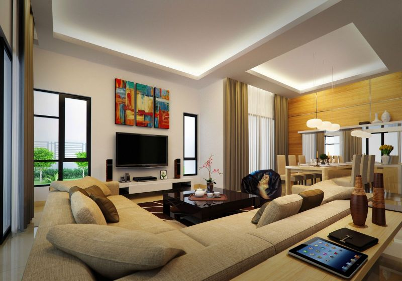 New 2 sty terrace link house for sale at puteri daffina for Living room ideas malaysia