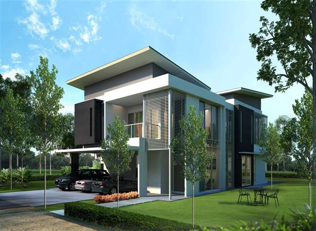 New Bungalow House For Sale At Cypress Residences Double