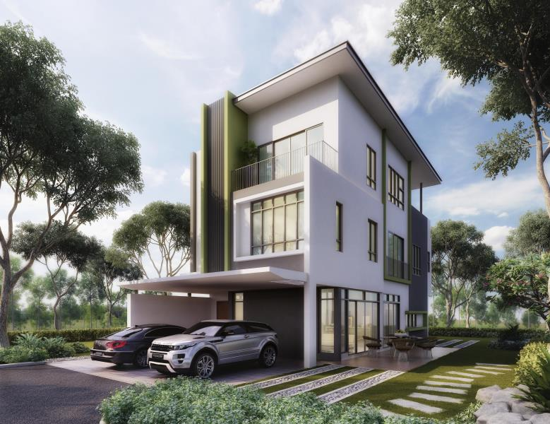 New Zero Lot Bungalow For Sale At The Rise Selangor From Rm 1 575 000