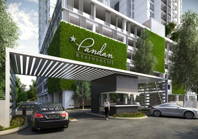 New serviced apartment for sale at pandan residence ii for Home gateway architecture