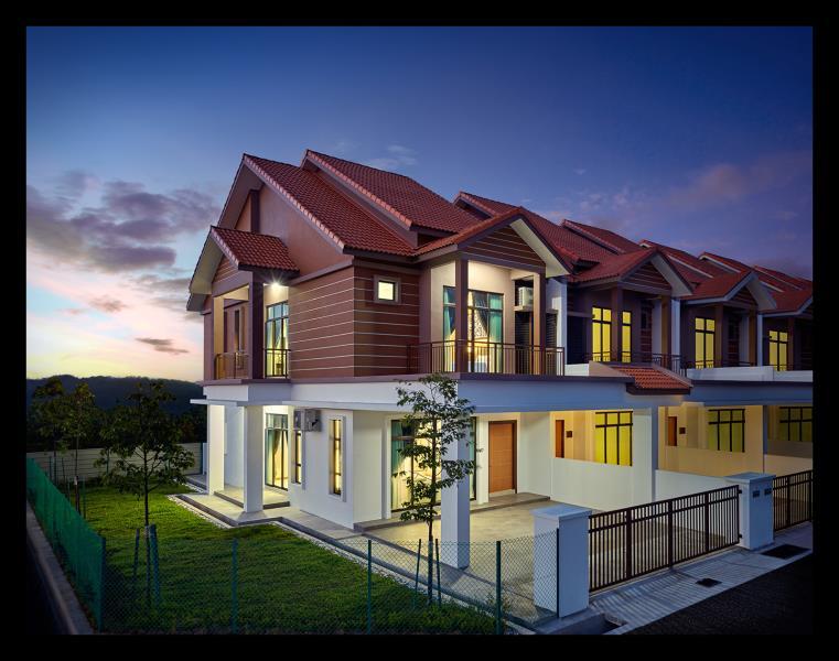 Fuchsia 2-Storey Terrace Houses