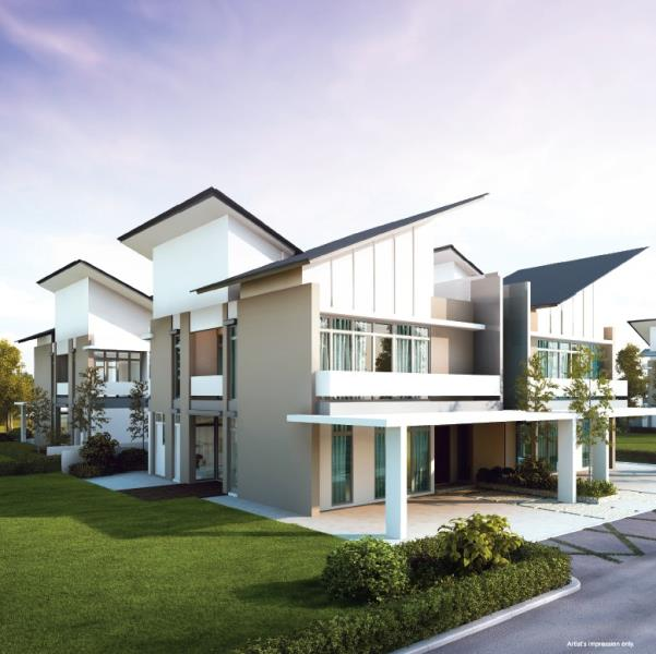 New Cluster Homes For Sale At Setia Eco Cascadia, Johor
