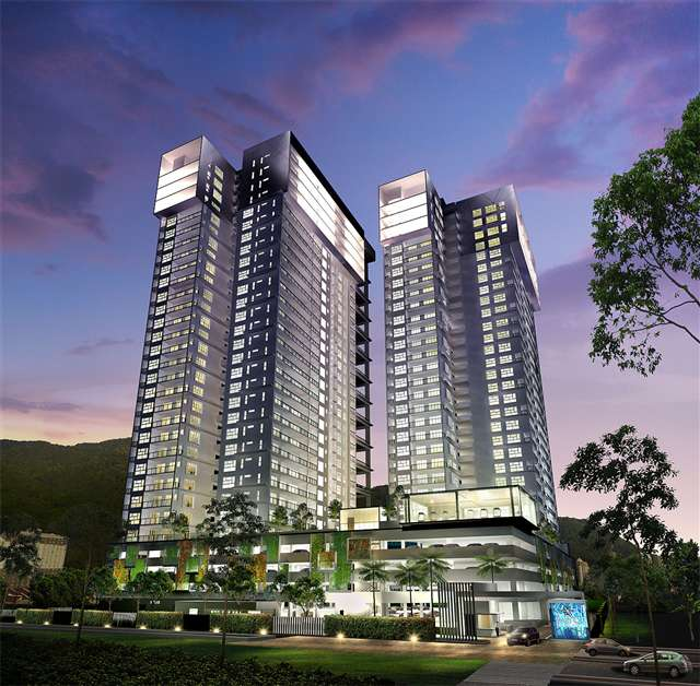 New Condominium For Sale At Mira Residence Tanjung Bungah