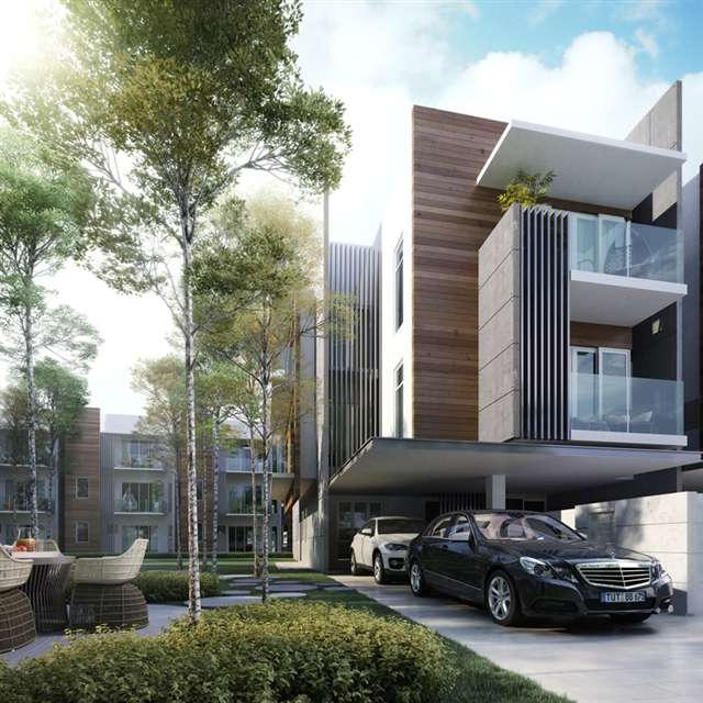 New townhouse for sale at the vale 2 selangor from rm 988 800 for Luxury townhouse designs