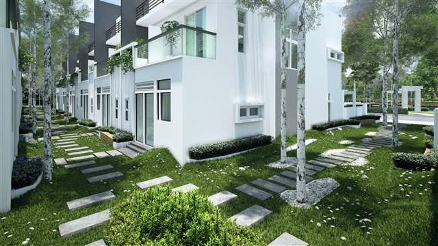 2 storey terrace house design home photo style for 3 storey terrace house design