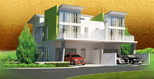 New 2 sty terrace link house for sale at maya heights for Terrace house new season